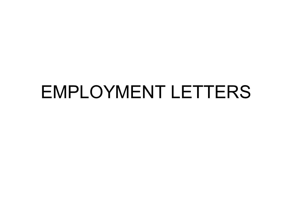 Employment Letters Employment Character Reference Letter - key features recommendation letter employment