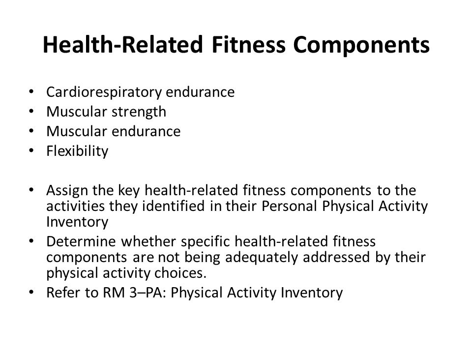 Health and fitness related components essay Coursework Help - components of fitness