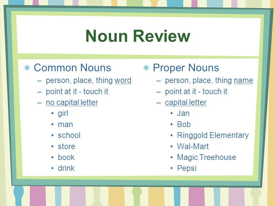 Proper Nouns - killer-grammar