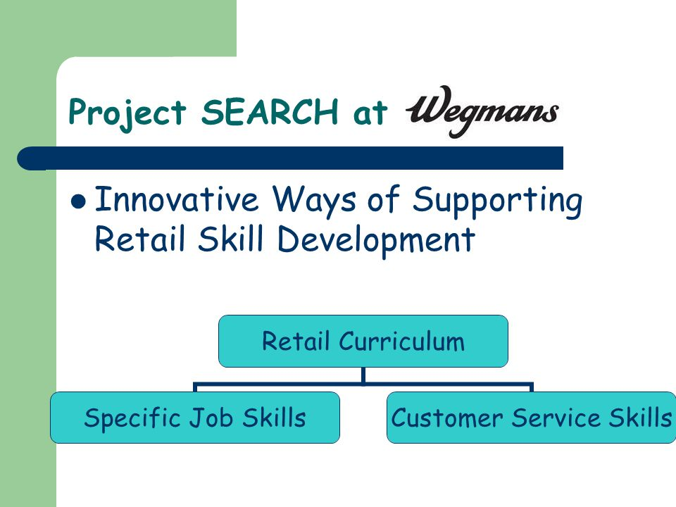 Teaching Skills for the Retail Setting The Way Cindy Martens-Pitts - retail skill