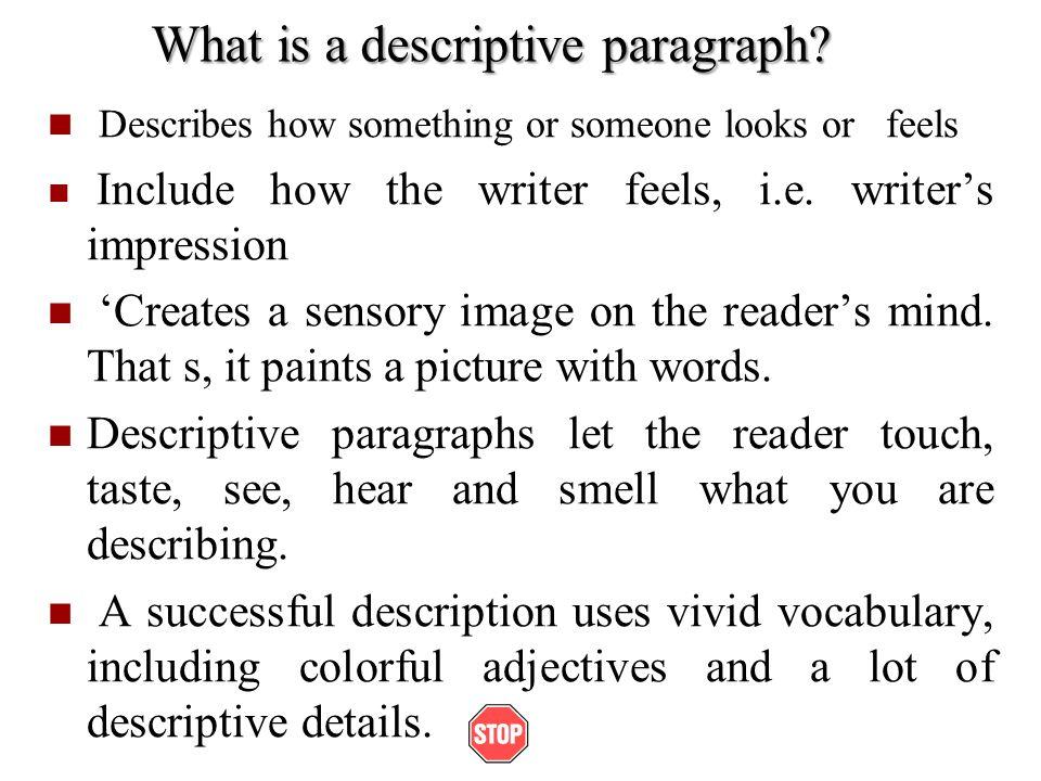 Descriptive writing essay examples Custom paper Academic Service