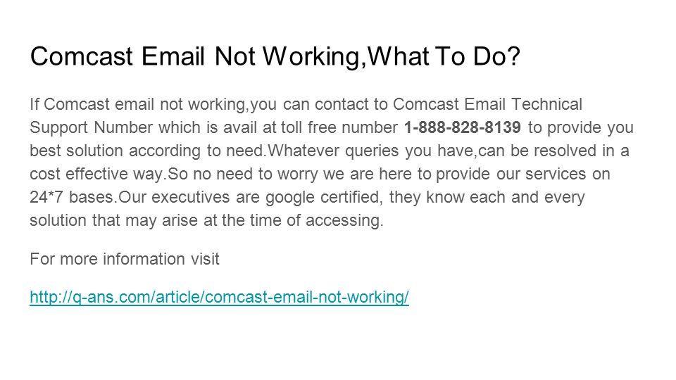 Comcast Technical Support Comcast Customer Service Number Comcast