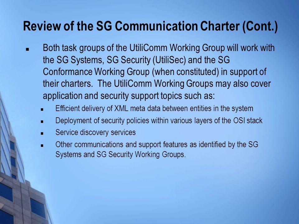SG Communications Boot Camp November 19th, Agenda 330 \u2013 340