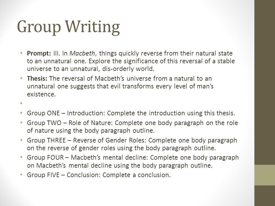 Macbeth essay intro College paper Service