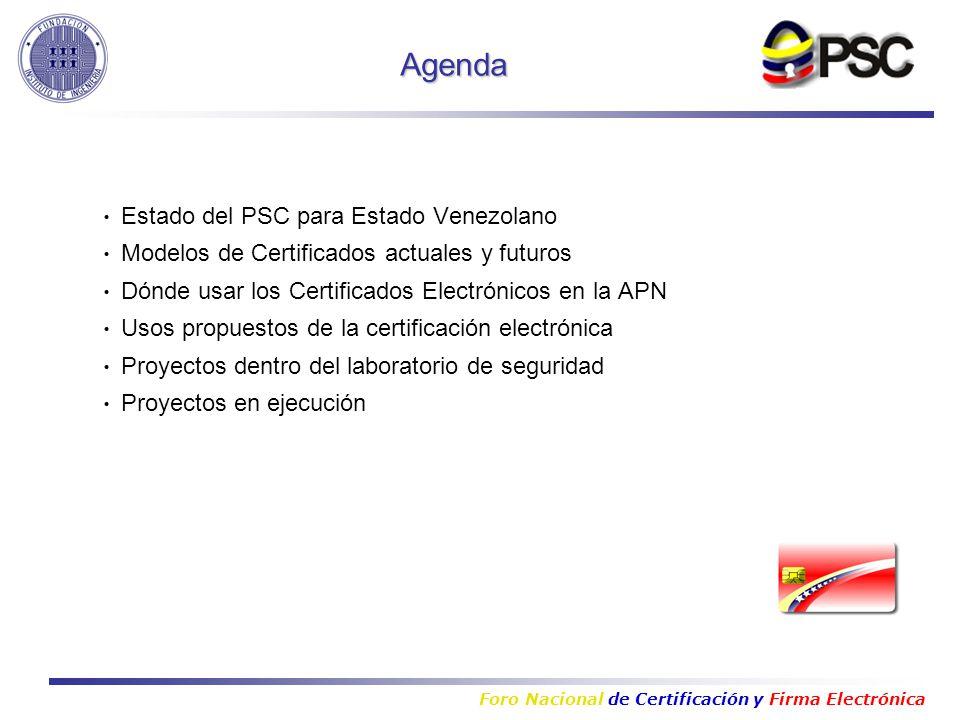 Foro Nacional de Certificación y Firma Electrónica Ing Gabriel