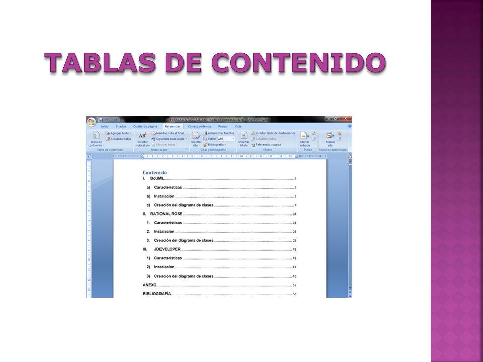Utilice Microsoft Word para crear y modificar textos y gráficos en