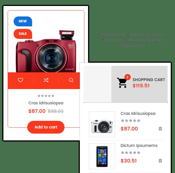 SP ClickBoom - Ajax add to cart