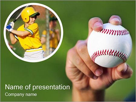Baseball PowerPoint Template, Backgrounds  Google Slides - ID