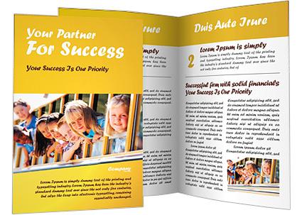 Kids - Brochure Template - SmileTemplates