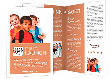 Education Brochure Templates  Designs for download - SmileTemplates