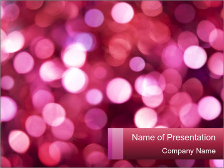 Abstract Christmas Lights PowerPoint Template, Backgrounds  Google