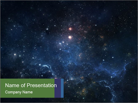 Endless Universe PowerPoint Template, Backgrounds  Google Slides