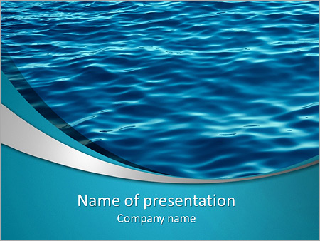 Summer sea PowerPoint Template, Backgrounds  Google Slides - ID