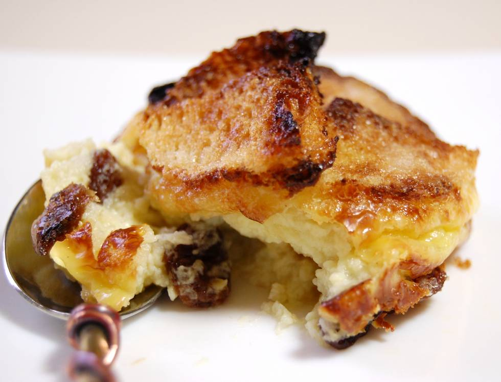 Keuken 5x5 Bread And Butter Pudding - Broodpudding Recept | Smulweb.nl