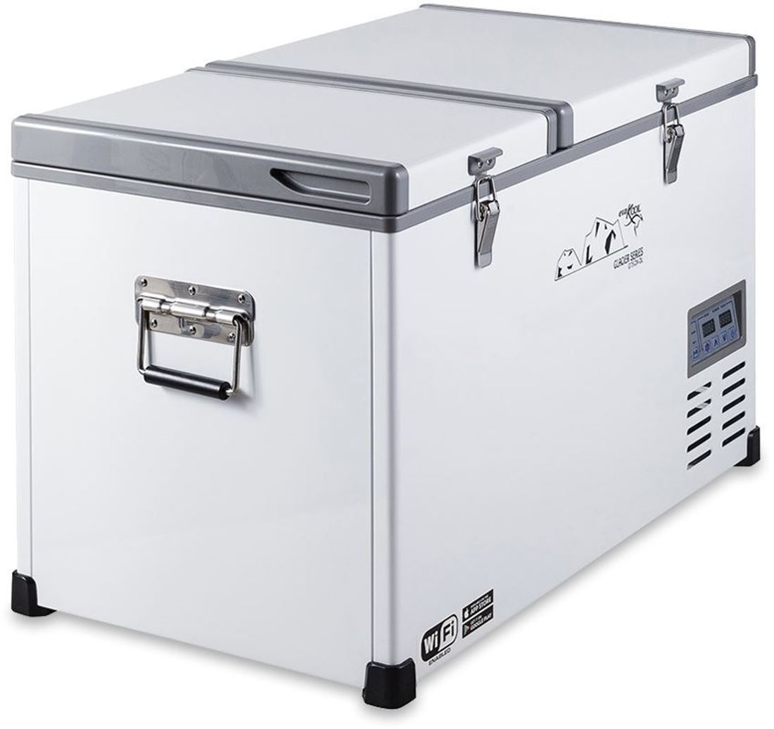Fridge Freezer G75 Dx Glacier Dual Zone Fridge Freezer