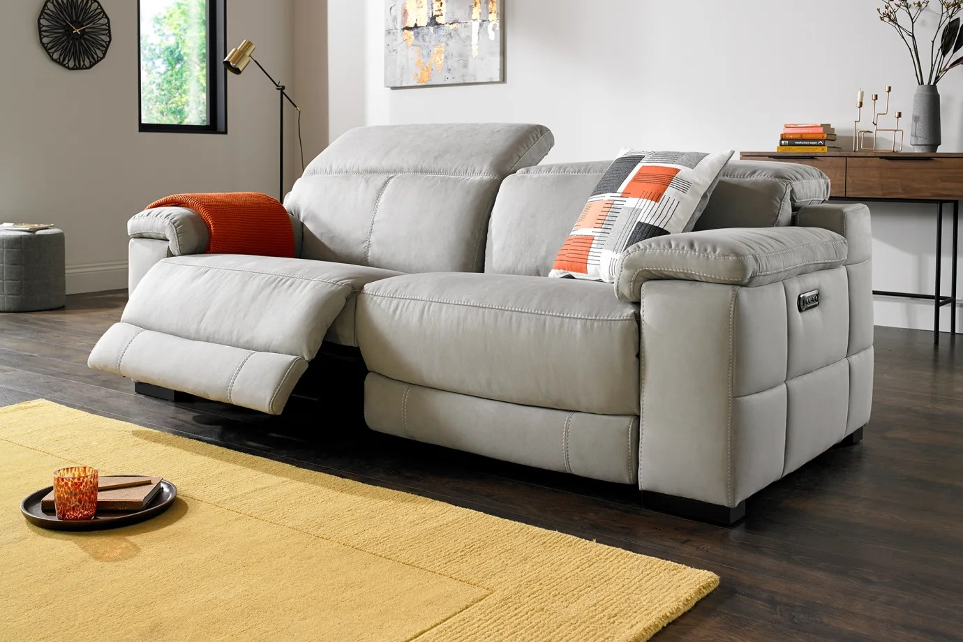Recliner Sofas Leather Fabric And Corner Sofology