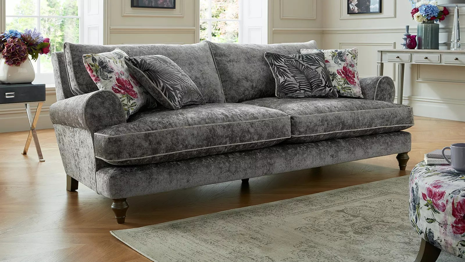 Candy Big Sofa Fabric Sofas Corner And Sofabeds Sofology