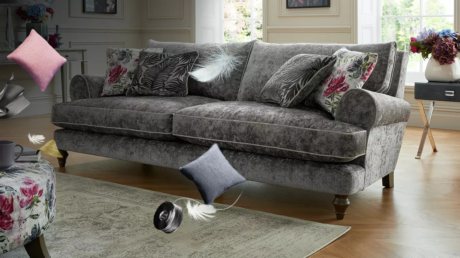 Sofa Fabric Fabric Sofas Corner And Sofabeds Sofology