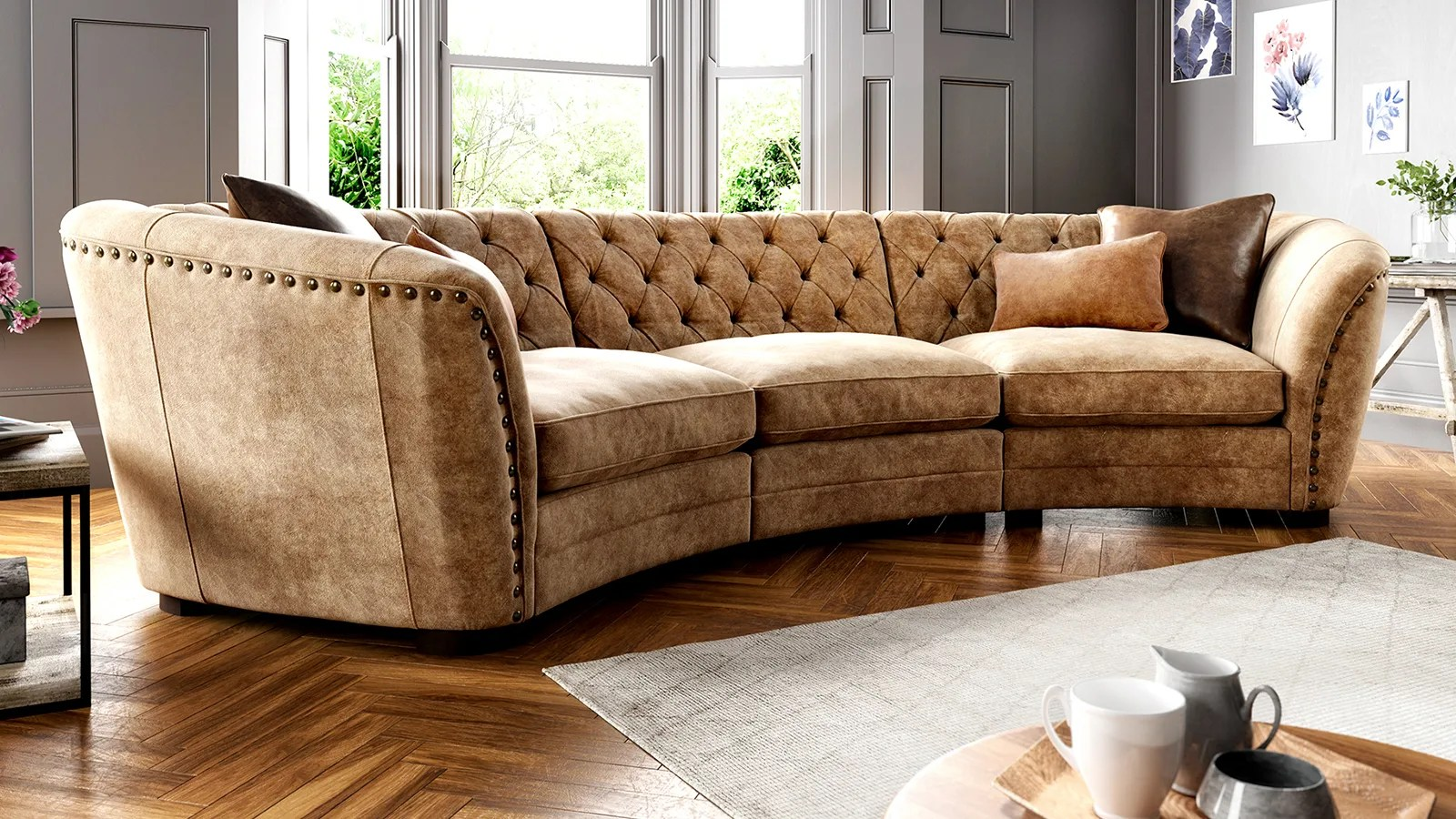 Sofology Quebec Leather Sofas Sofology