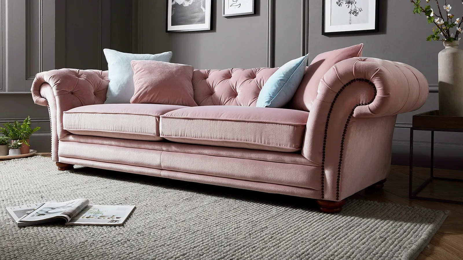Modern Quilted Sofa Fabric Sofas Corner And Sofabeds Sofology