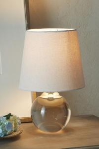 Crystal Globe Table Lamp - Crystal Lamp, Crystal Table ...