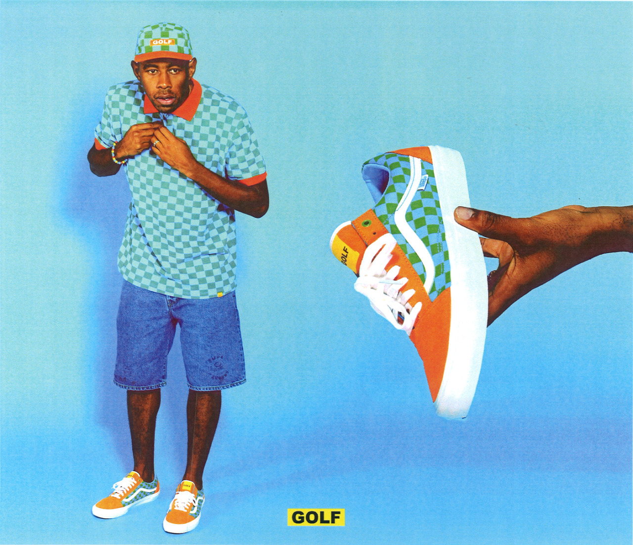 Golf Wang Wallpaper Iphone Tyler The Creator Designed Some More Vans Sneakers Sole