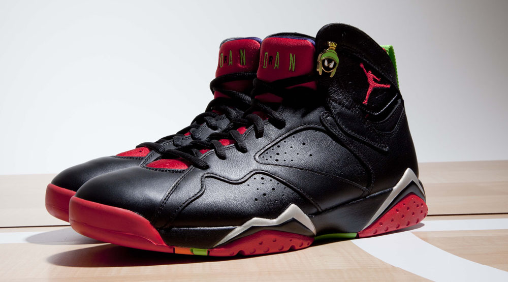 Up Close With The 39marvin The Martian39 Air Jordan 7 Sole