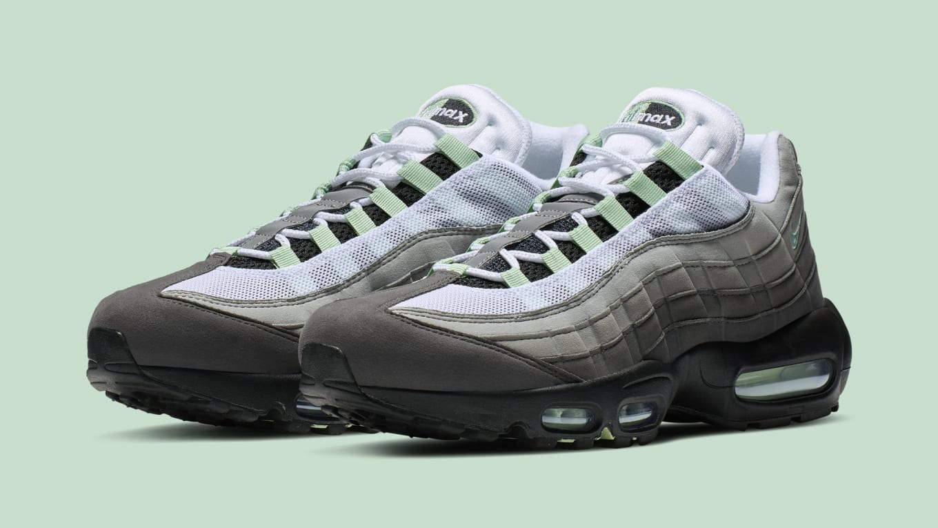 Nike Zoom Grey And Green Nike Air Max 95 White Fresh Mint Granite Dust Cd7495 101