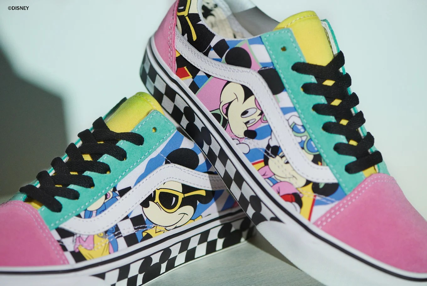 Vans Disney X Vans Mickey Mouse 90th Anniversary Release Date Sole