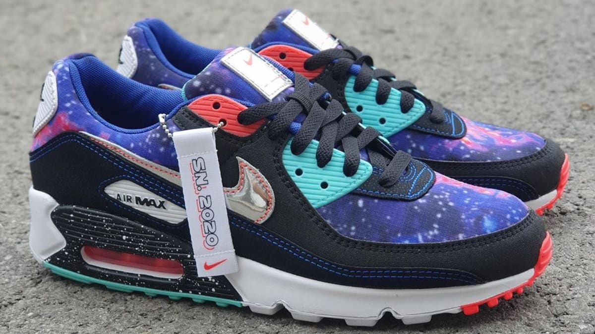 Nike Air Max 90 39 Galaxy 39 Release Date Cw6018 001 Sole