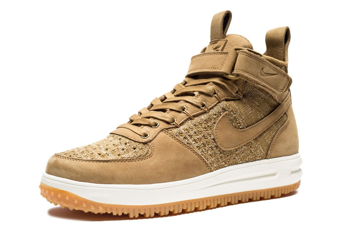 Nike Air Force Flyknit Wheat Nike Lunar Force 1 Flyknit Boot | Sole Collector