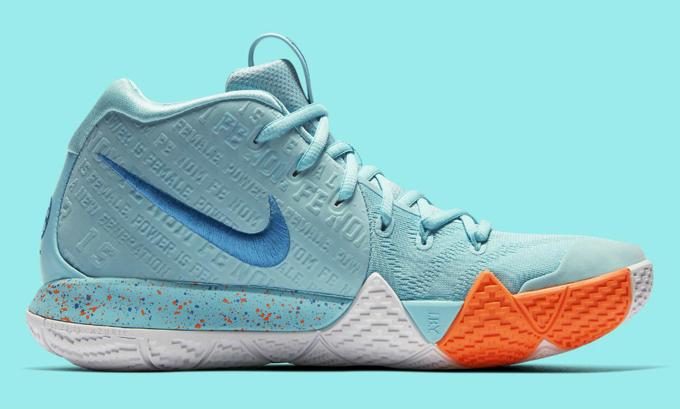 Aquaneo Wc Nike Kyrie 4 Power Is Female Release Date 943806 402 Profile