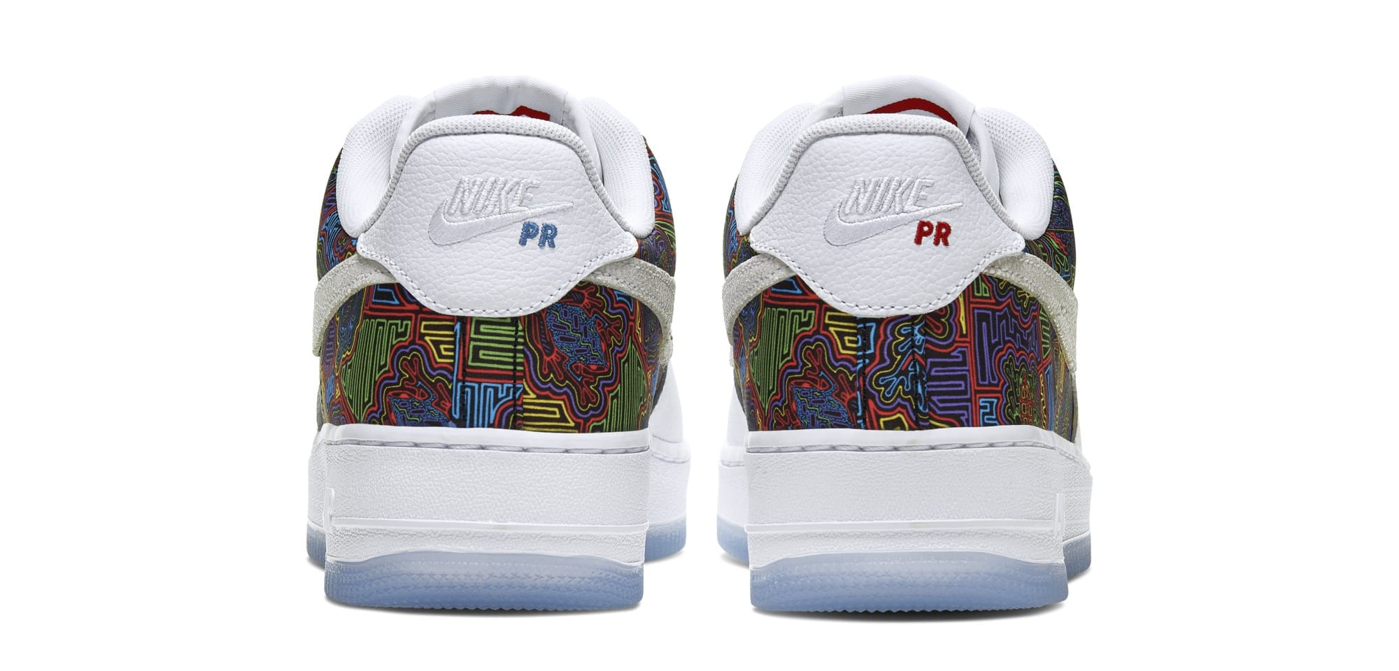 Icy Blue Grind Nike Air Force 1 Low 'puerto Rico' 2019 Cj1620-100 Release