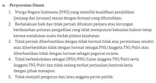 Cpns Kepri 2013 Lowongan Kerja Bp Indonesia Loker Cpns Bumn Pendaftaran Cpns Kpu 2014 4 Ketentuan Seleksi Administrasi Cpns