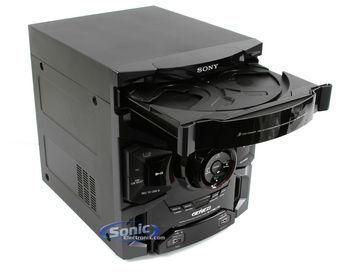 Sony Mhc Gtr333 Mini Hi Fi 3 Disc Cd Boombox Component