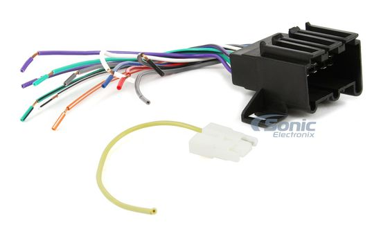 Scosche GM01B Wire Harness to Connect Aftermarket Stereo Receiver