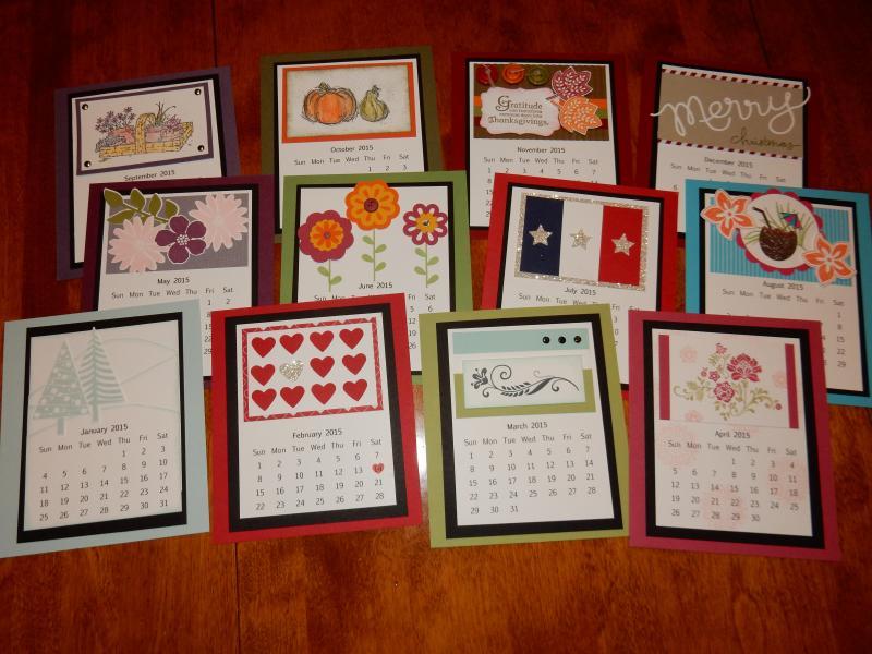 weekly calendars 2015