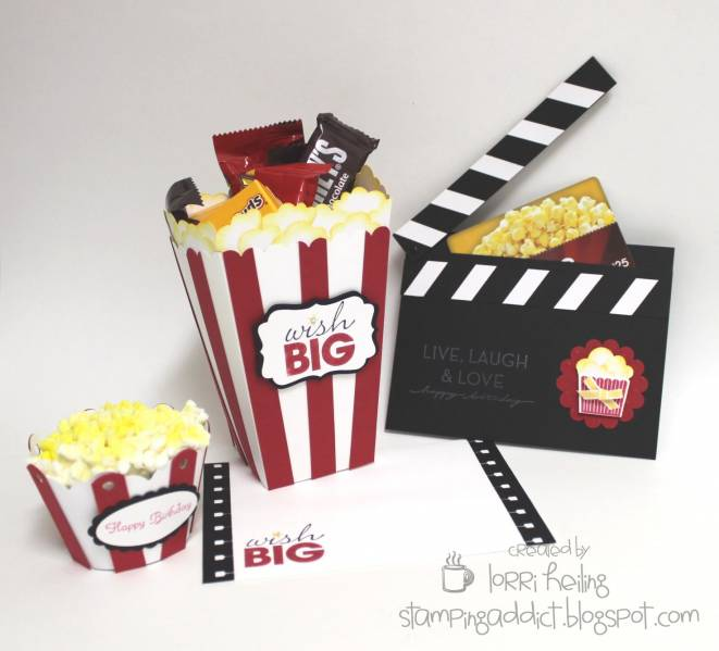 Abschiedsgeschenk Selber Machen Movie Theme Gift Ensemble By Lorriheiling - At