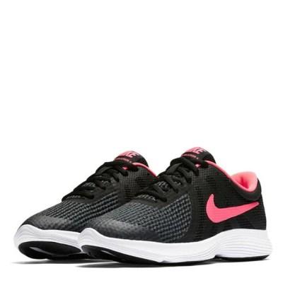 Nike Revolution 4 Junior Girls Trainers | Cushioned ...