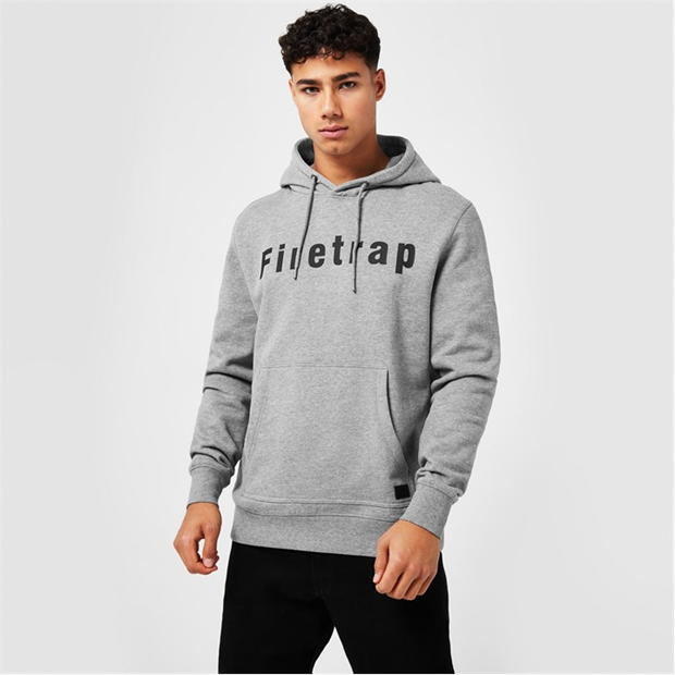 Sweater Hoodie Mens Malaysia Firetrap Oth Graphic Hoodie Over The Head Pullover