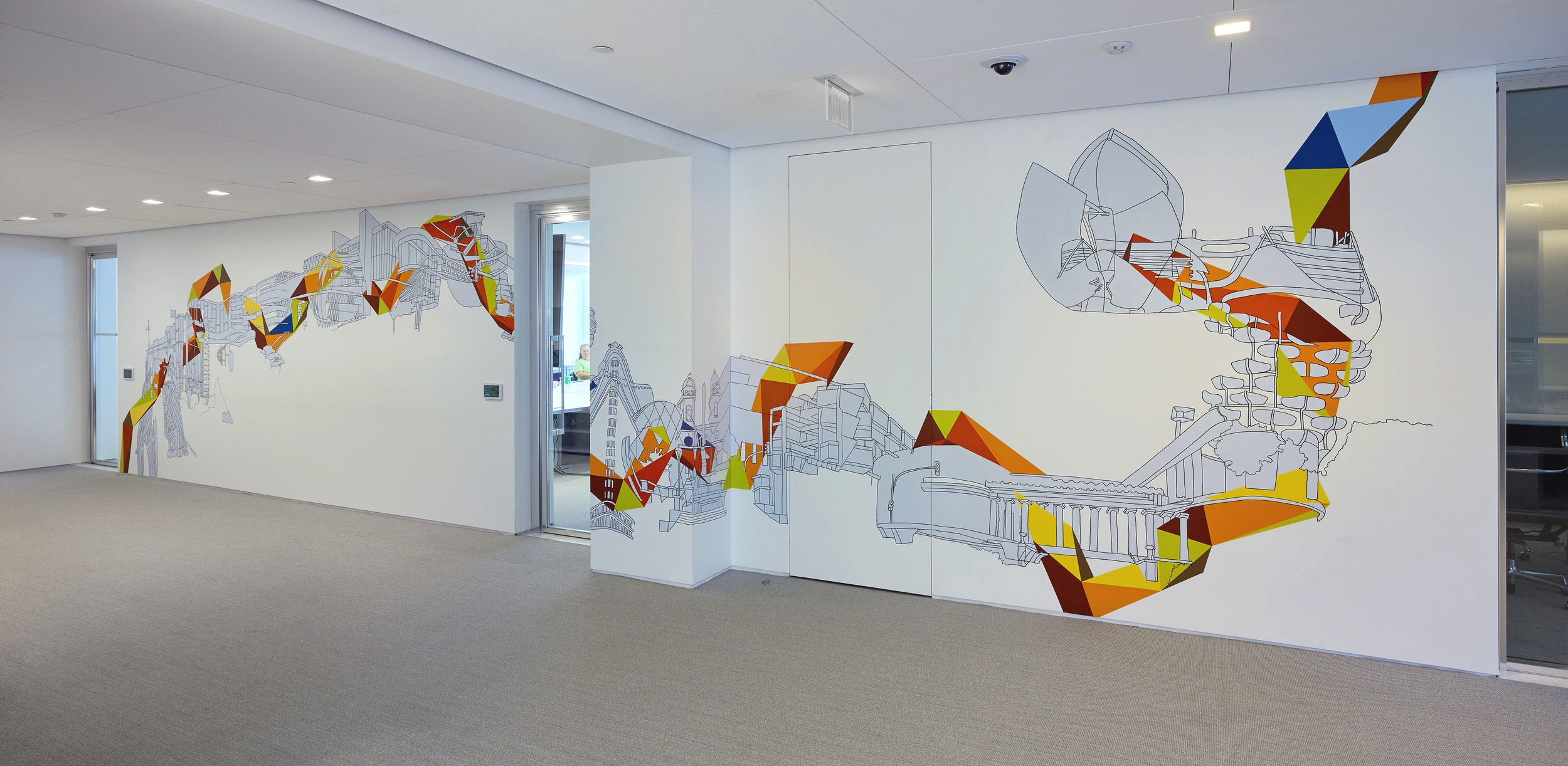 Art Wall Wall Drawings Kim Schoenstadt