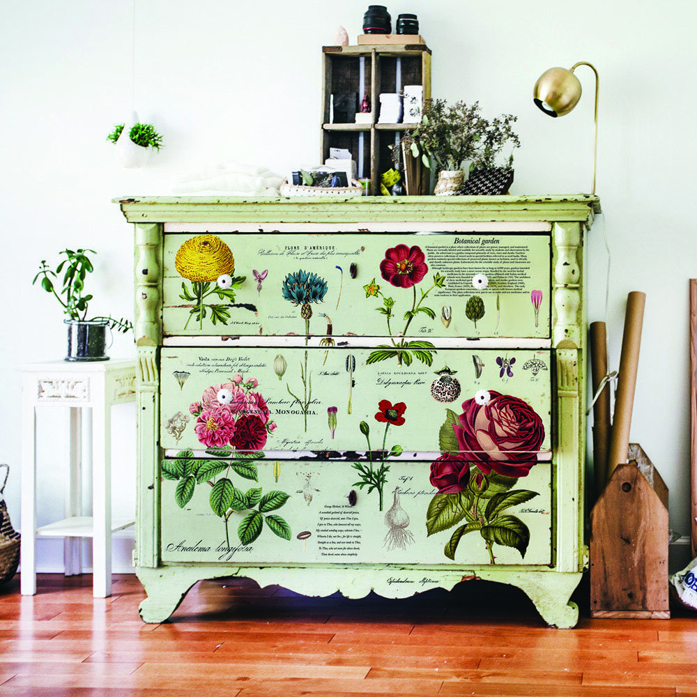 Vintage Fotos Vintage Botanical Furniture Decor Transfer | Redesign With Prima Uk | Free P&p | Claire's Crafthouse
