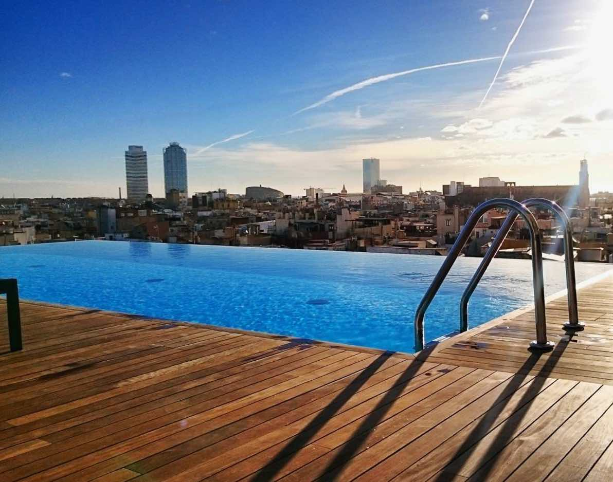 Grand Hotel Central Barcelona Best Hotels In Barcelona With A View — The Most Perfect View