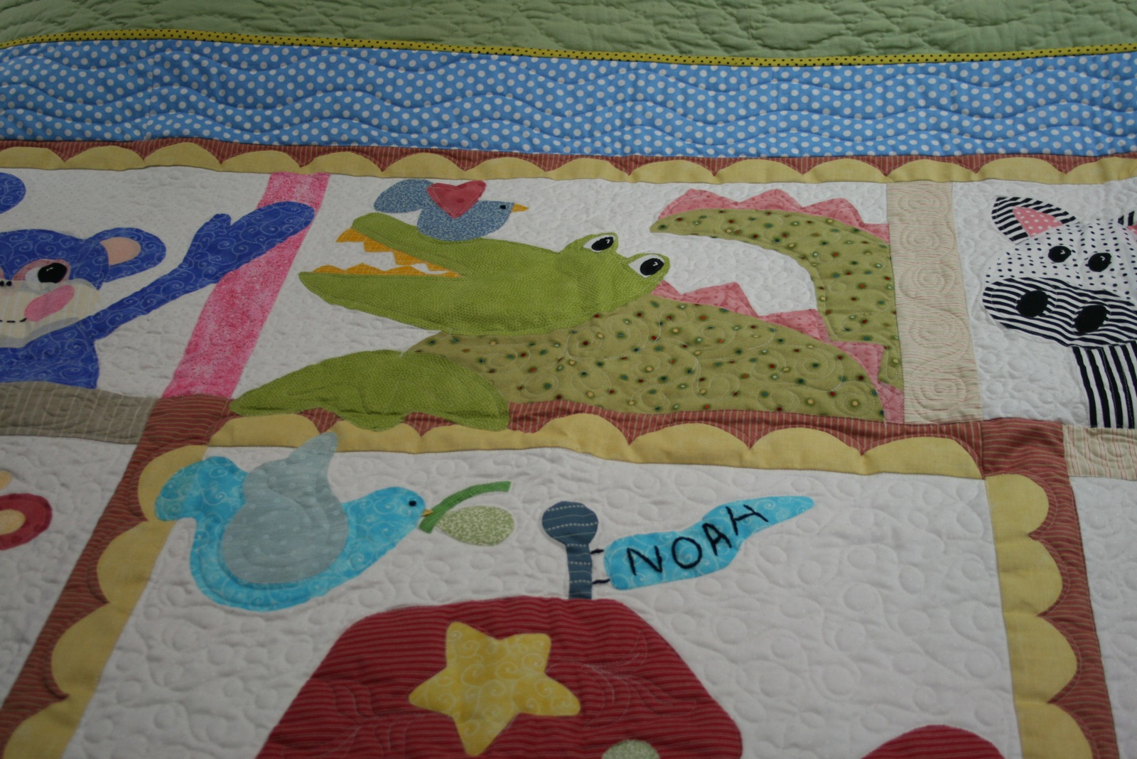 Baby Quilts.com Bluebird Gardens Quilts And Gifts