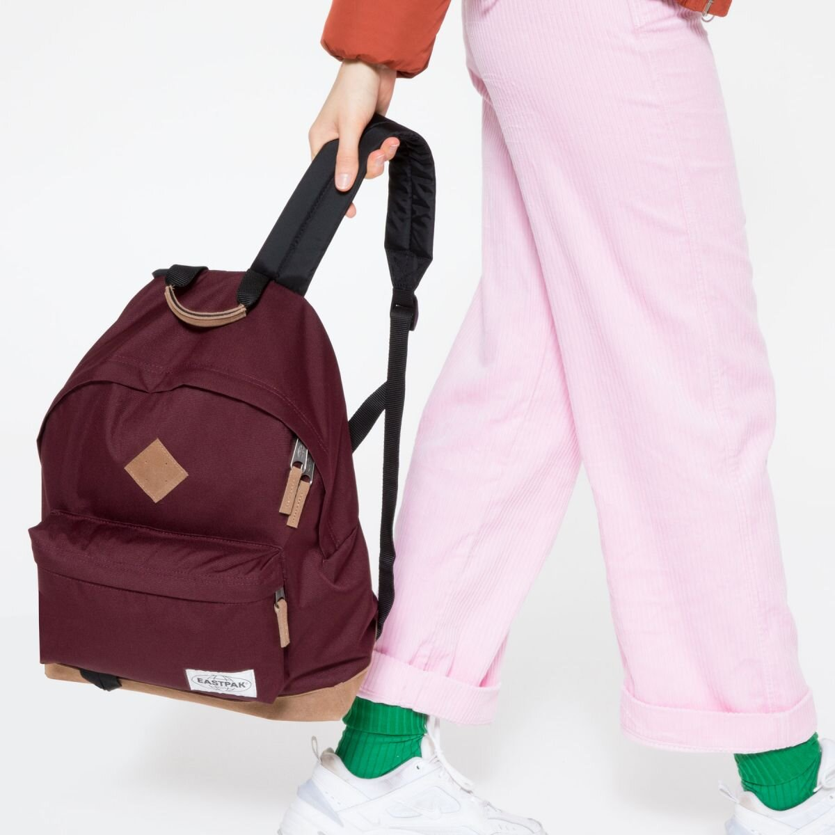 Eastpak Wyoming Backpack In Wine Cary Lane