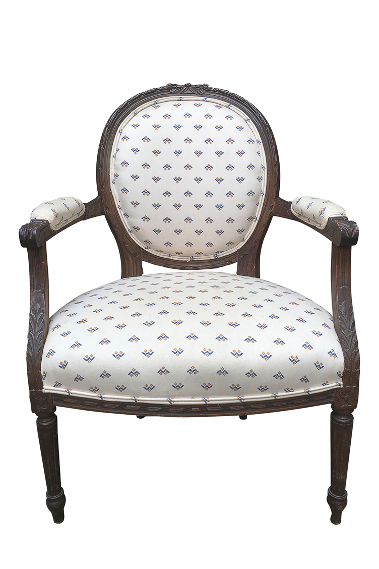 Heirloom Fauteuil Chair Revitaliste Upholstery Furniture Refinishing Restoration Interior Design San Francisco Ca