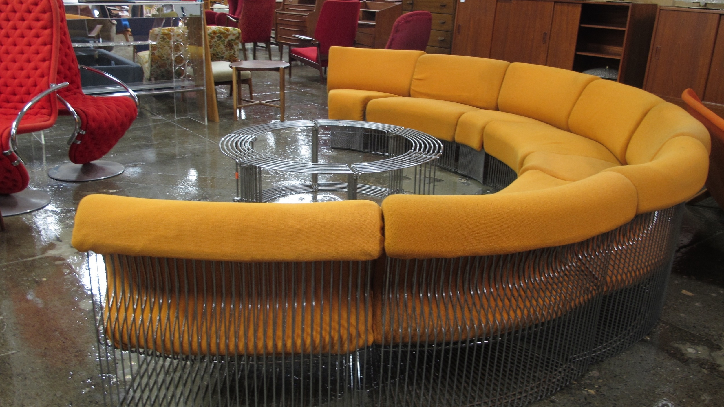 Verner Panton Pantonova Sofa Chris Howard Antiques Modern