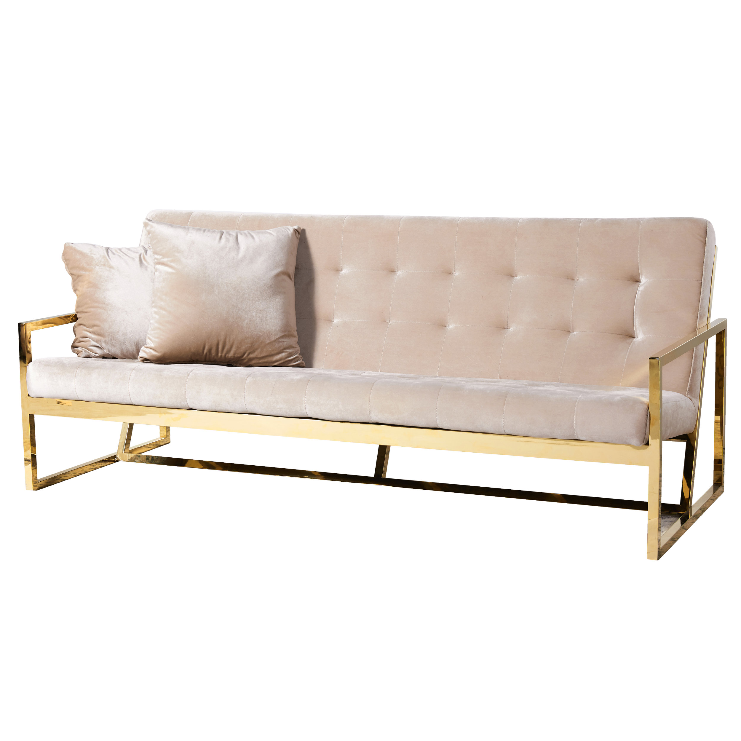 Lounge Sofa Sydney Simply Seated Champagne Velvet Lounges Event Hire Sydney