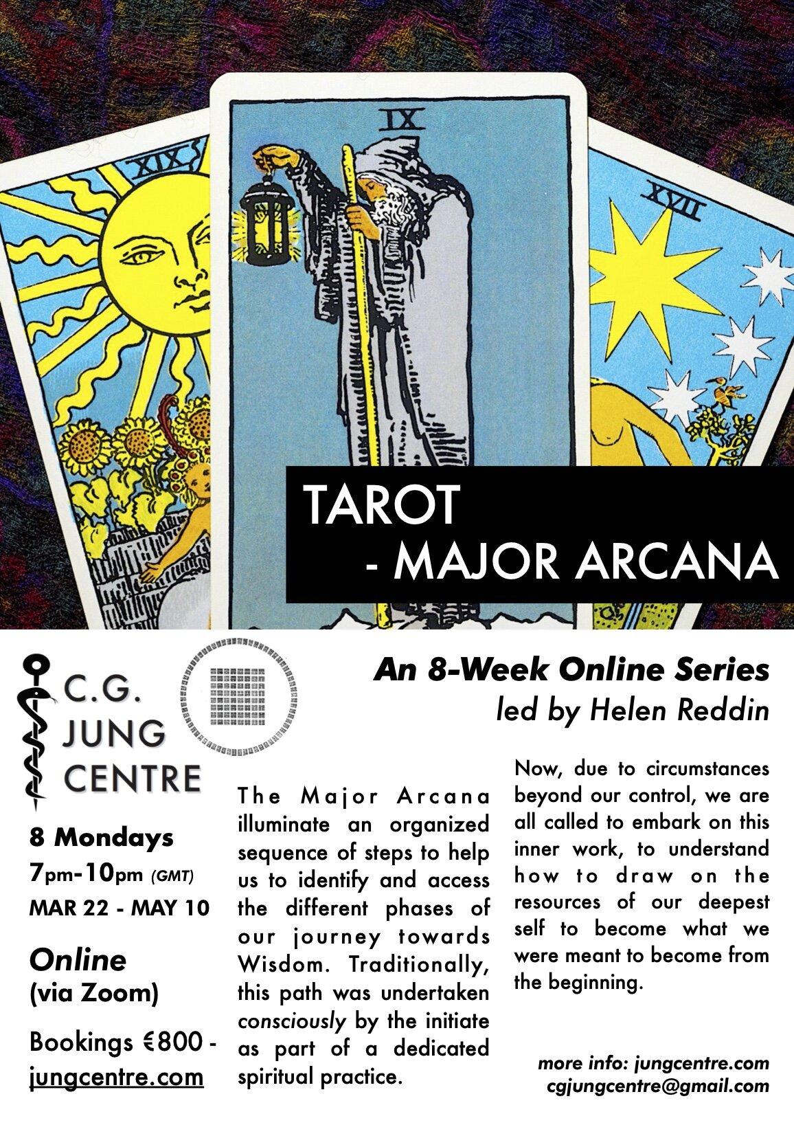 Https Www Jungcentre Com Tarot Major Arcana Online Series
