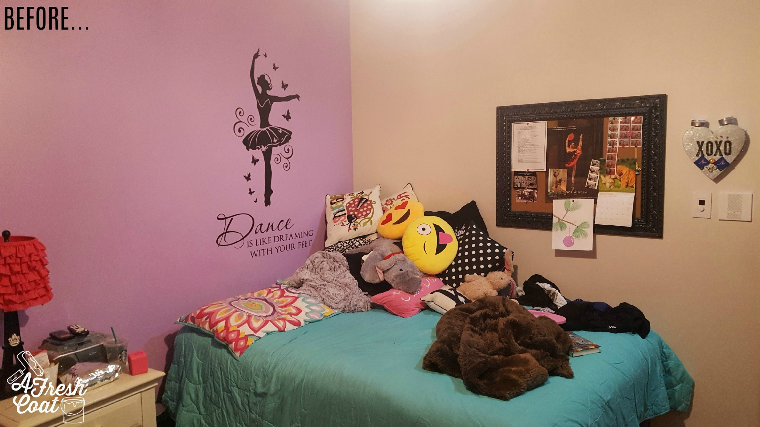 Cat Tastic A Teenage Girl S Room Makeover A Fresh Coat